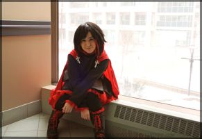 Ruby Rose cosplay - RWBY - G-Anime 2014 by Marieeve15