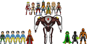 Other New Amalgam Heroes 4: International by Red-Rum-18