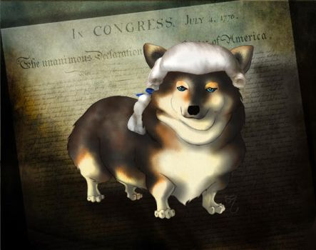 George Woofington by PlaidTidings