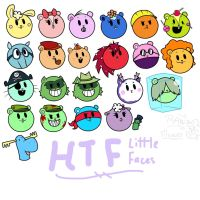 HTF Little Faces by RawFlower