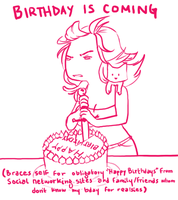 obligatory birthday announcement by LVL80Catlady