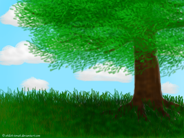 Scenery Practice by Shiloh-Tovah