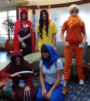 Homestuck cosplay group by TheRollingGirls