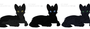 Melanistic Serval Adopts CLOSED by SapphireSquire