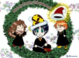 Potter Xmas by kiarasoares