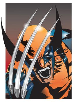 wolverine vector by isanart
