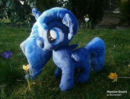 Handmade Filly Princess Luna Plushie by HipsterOwlet