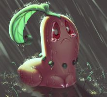 One face a day #84/365. Chikorita