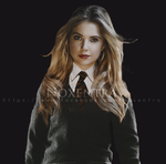 Ashley Benson as Hufflepuff by N0xentra