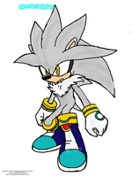 Silver the Hedgehog by UndeadPuppeteer