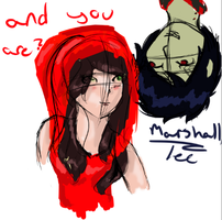 Vero and marshall lee by Acryeel