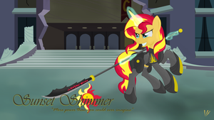 Armory: Sunset Shimmer by Virenth