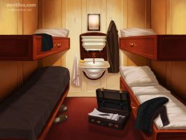 3rd Class Cabin of Titanic by novtilus
