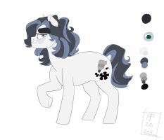 Curly Cue: Pony-sona Updated Ref by rainbowfactory20