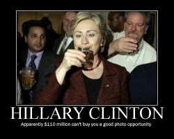 Another Bad Hillary Shot by blasticore