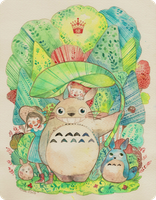 Totoro by Miss-Etoile