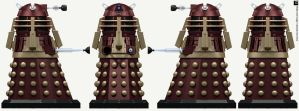 Post-Time War Supreme Dalek by Librarian-bot