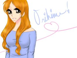 The Prettiest Orihime by resachan222