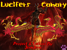 Lucifer's Canary Banner made for JeinJein by Pinktiger1978