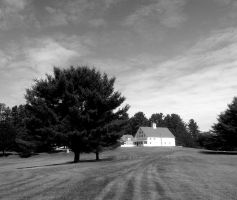Golfcourse B and W by hm923