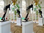 Another Holland Park Orangery Bronze Statue Stereo by aegiandyad