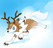 Lycanroc by HappyCrumble