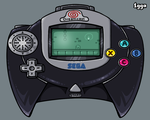 Sega Dreamcast Handheld by 1gga