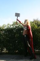 ThorA cosplay_Hammer Time by AlyTheKitten