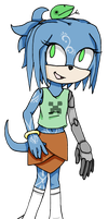 Gem the echidna by Chaos55t