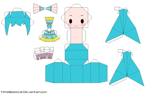 BPM Miku Papercraft by Tamuu-ii