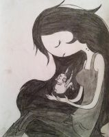 Marceline the Vampire Queen and Hambo by xXxEmoSweetheartxXx