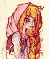 Day 217 - Old Hoodie by Chame