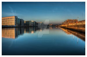 Morning on the LIffey by suolasPhotography
