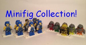 Power Miners Minifigure Collection by WorldwideImage