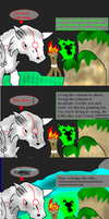Okami-- Issun talks too much by DreamerPony