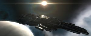 EVE Online - Nyx Mothership by LukeDS