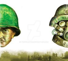 SOLDIERS by tonykartun