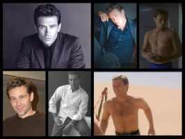 Connor Trinneer - Collage 1 by Lirtista