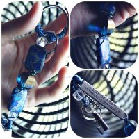 Quote Key Chain by GrotesqueDarling13