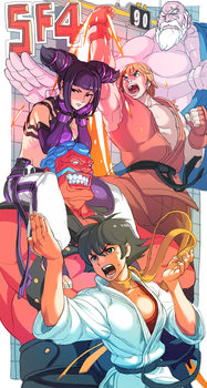 street fighter 4 by oetaro