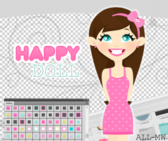 HappyDoll by allmyworld