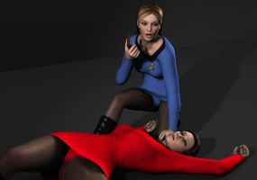 Star Trek TOS Girls in Peril 2 by Torqual3D