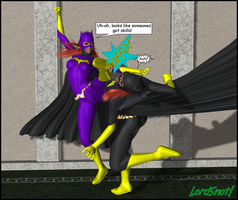 Batgirl Brouhaha 02 by LordSnot