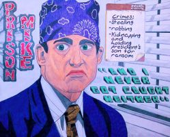 Prison Mike from The Office by TravisAitch