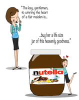 Nutella, The Best Thing To Get a Girl by GamzyJam