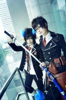 Ao no Exorcist by kusoya