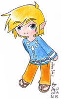Outset Link Chibi by Whoodles