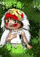 Chibi Princess Mononoke by 11yle
