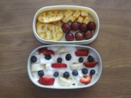 Fruity Snack Bento by Trixtorr