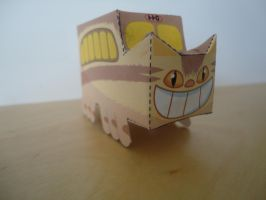Catbus Papercraft by studioofmm